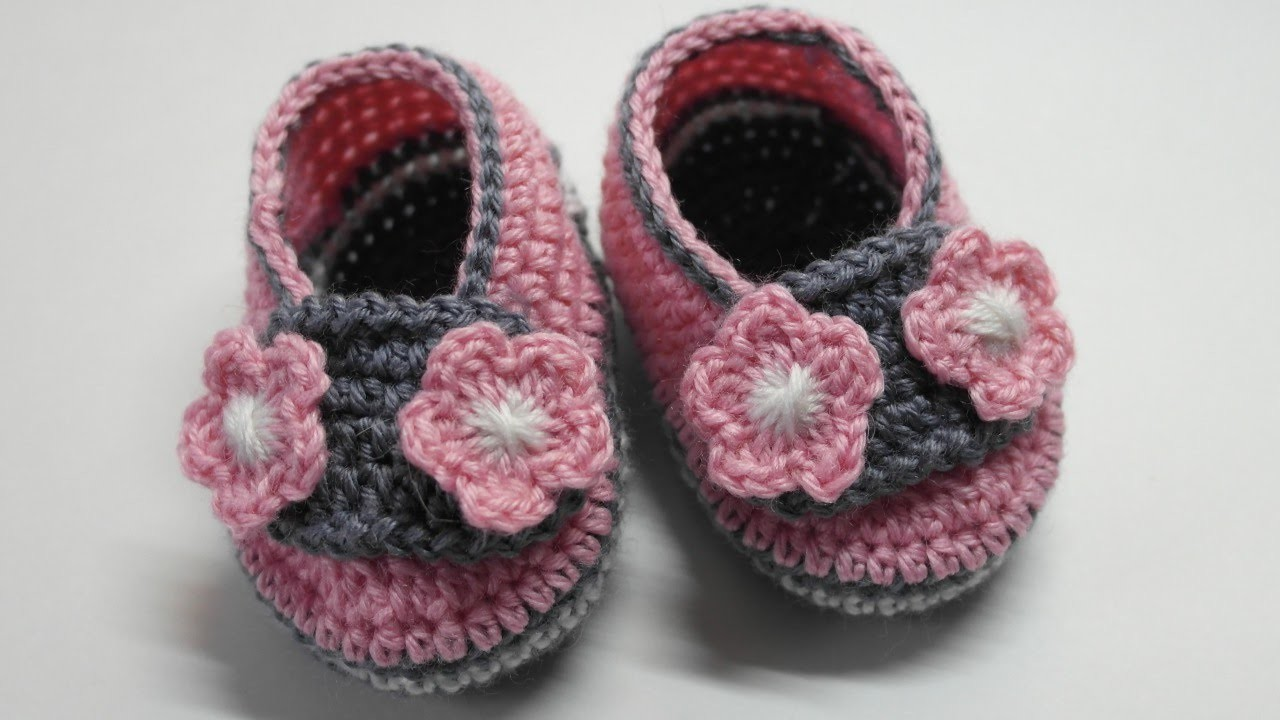 How To Make Cute Baby Booties Size 7 cm - DIY Style Tutorial - Guidecentral