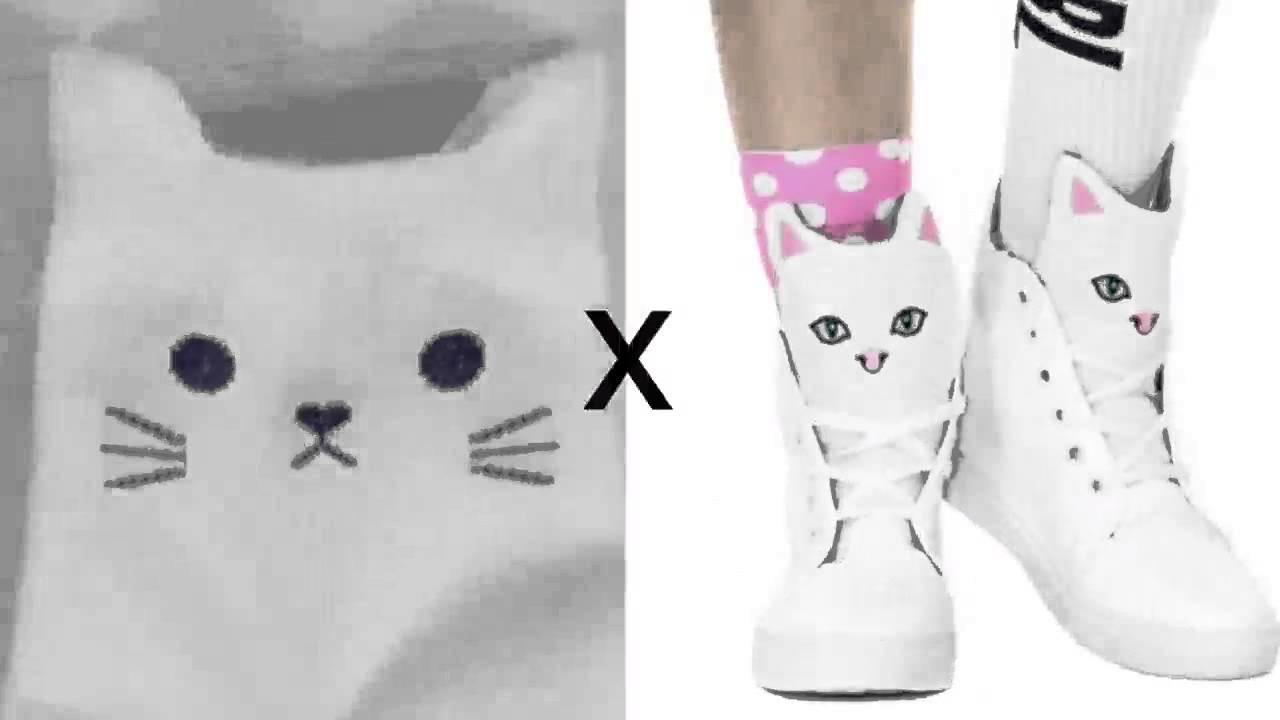 How to make funny cat socks :)