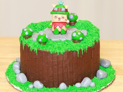 LEAGUE OF LEGENDS CAKE - NERDY NUMMIES