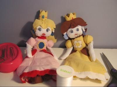 Make Your Own Princess Peach Plush