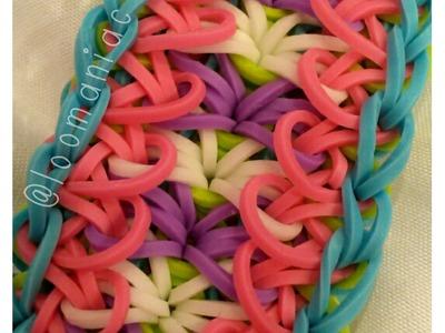 NEW! Lacey Edge Bracelet on Rainbow Loom