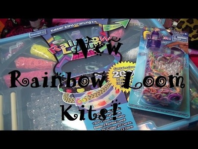New! Rainbow Loom Products! (Finger Loom & Loominator Mega Kit!)