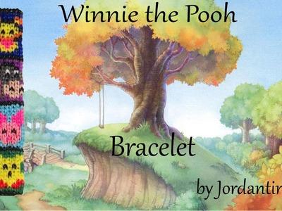 New Winnie The Pooh Bracelet Pattern - Alpha Loom. Rainbow Loom - Tigger, Piglet, Eeyore