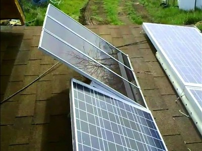 Off Grid Solar and Wind Installation Part Three