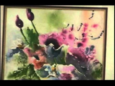 Online Watercolor Workshop Promo - Art Class - Betty Slade
