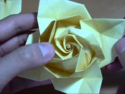 Origami Rose 1: Finishing Touches (Part 1) (Reuploaded)