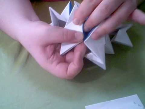 Origami Transformer Ball