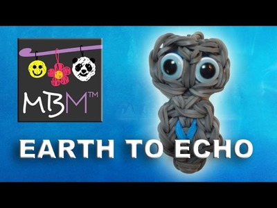 Rainbow Loom Earth to Echo Charm Tutorial