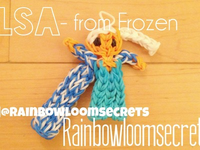Rainbow Loom Elsa from Frozen