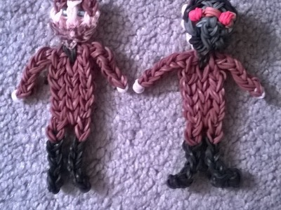 Rainbow Loom Peter Quill Star-Lord Tutorial Part One