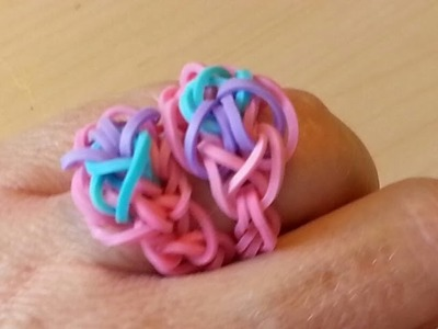 RAINBOW LOOM RING - How to