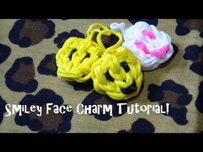 Rainbow Loom Smiley Face Charm! Easy & Step-by-Step!