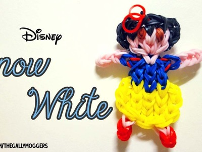 Rainbow Loom Snow White Action Figure Doll - How To