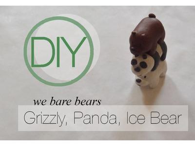 We Bare Bears Tutorial [Polymer Clay]