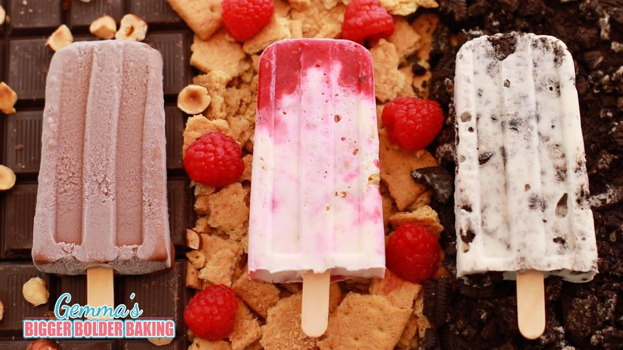 3 NEW Homemade Popsicles (Oreo, Nutella & Cheesecake Frozen Summer Treats) Bigger Bolder Baking 83