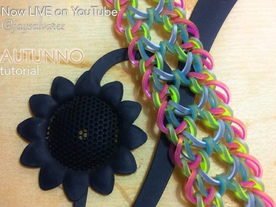 AUTUNNO Hook Only bracelet tutorial
