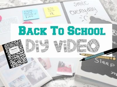 Back To School DIY's !