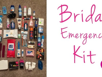 Bridal Emergency Kit :: Travel Toiletry Kit :: DIY Kit
