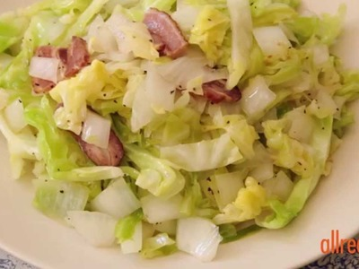 Cabbage Recipes - How to Make Southern Fried Cabbage