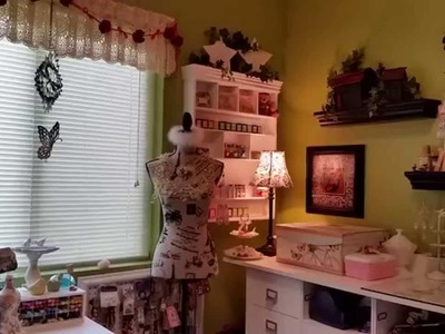Craft Room Tour August 2015