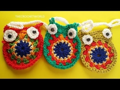 CROCHET OWL AND BUNTING IDEAS-1
