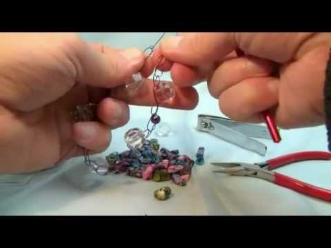 Curtzy.com - How to Crochet Lesson 24:Crystal Wire Bracelet with Michael Sellick and Curtzy Crochet