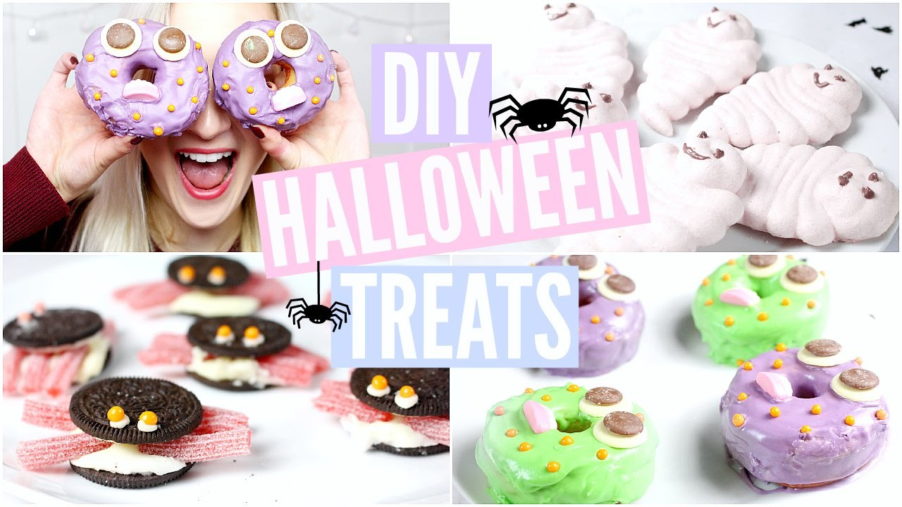 DIY Halloween Treats | sophielouisebeauty