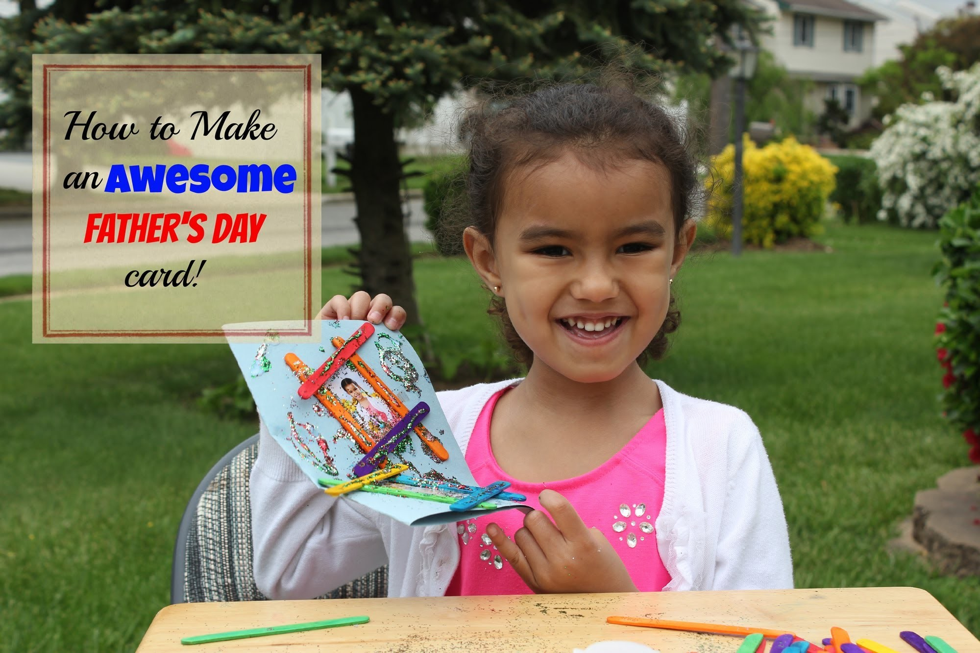DIY: How to Make an Awesome Father's Day Card