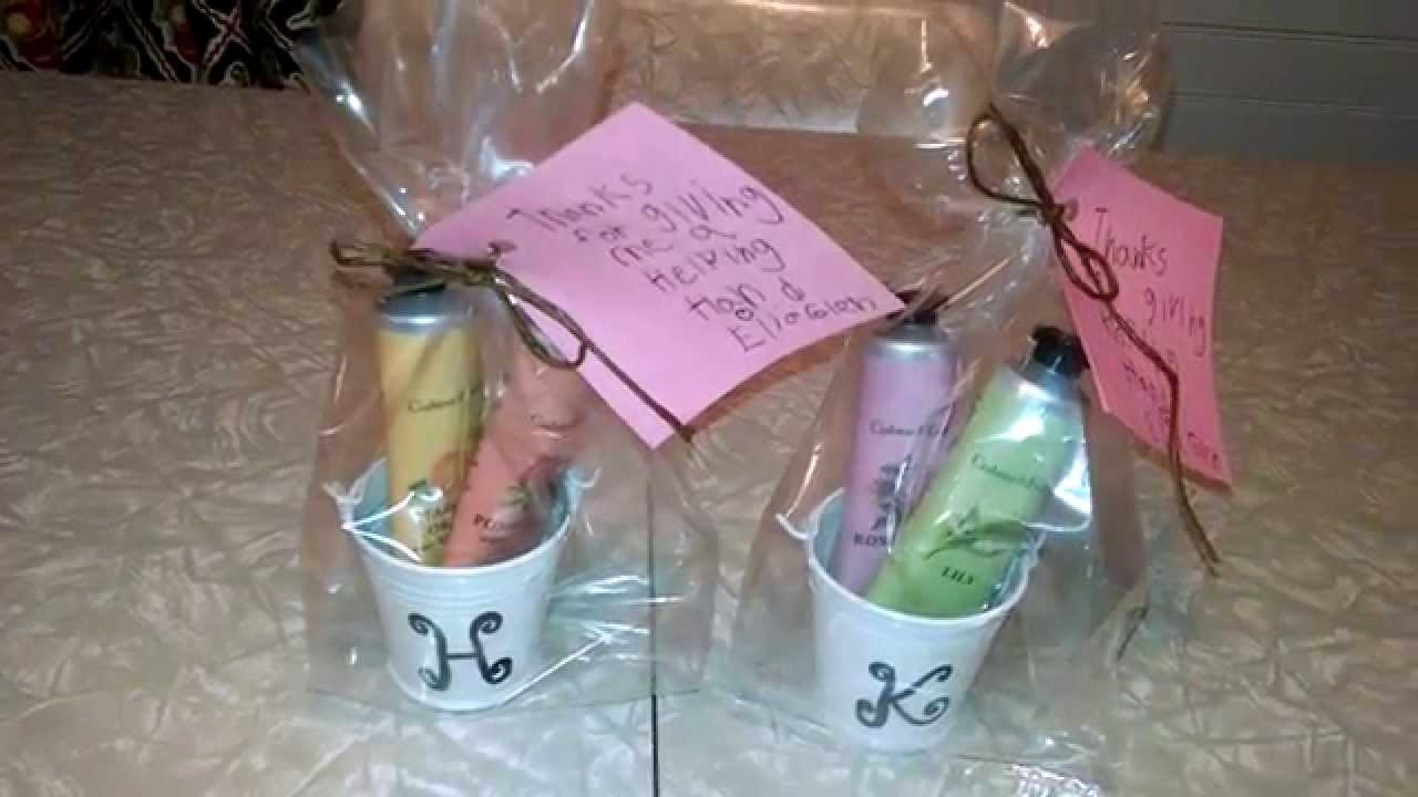 DIY Teacher Appreciation Week Gift, Day 4 - Crafty & Cute way to Say Thanks