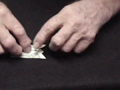 Dollar Bill Finger Puppet
