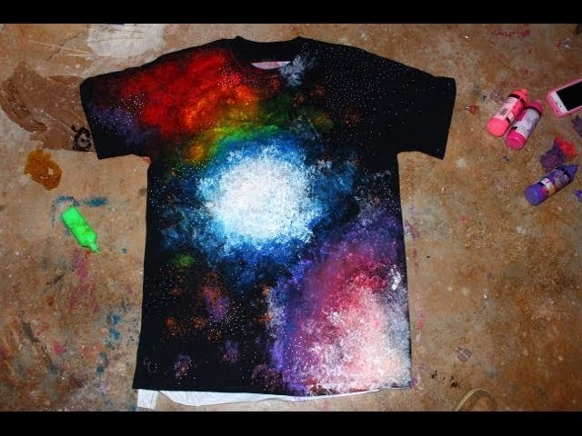 EASY DIY Galaxy Shirt