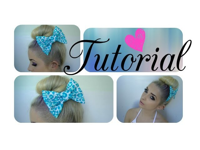 Easy Top Bun Tutorial