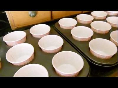 Edens Secret Making Bubble Cupcake Bath Bombs