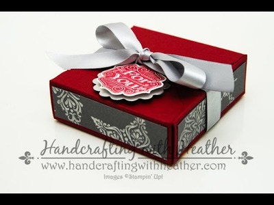 Gift Box Punch Board Tutorial