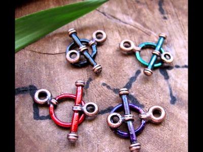 Handmade Jewelry Clasps for Necklace, Bracelet - Artisan Jewelry Supplies by Nadin