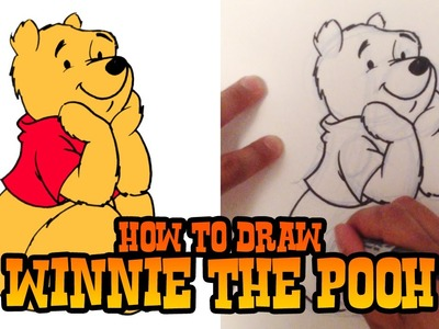 How to Draw Winnie the Pooh - Step by Step Video