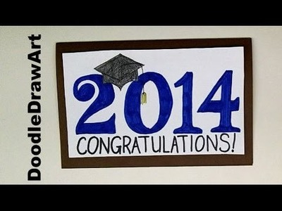 How to Make a Graduation Card - Step by Step