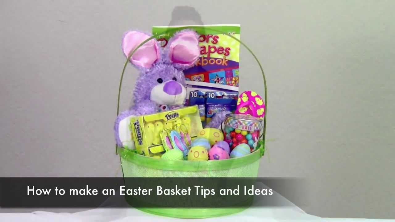 How To make an Easter Day Basket