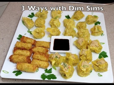 How to Make Dim Sims 3 ways THermochef Video Recipe cheekyricho