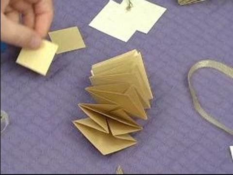 How to Make Pop-Up Gifts & Mobiles : How to Make a Pop-Up Star: Part 4