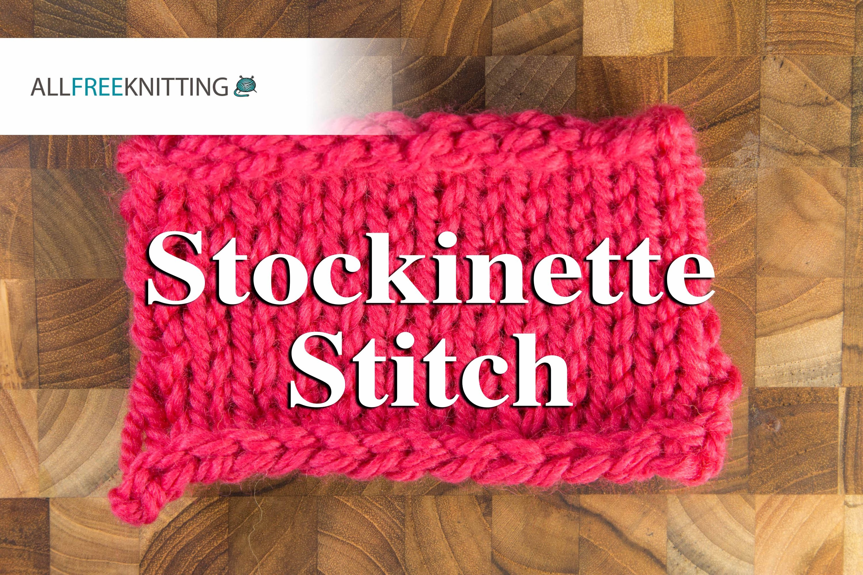 How to: Stockinette