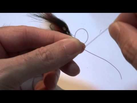 How to tie a Uni Knot.
