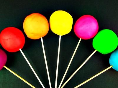 Lollipop Play-Doh Surprise Eggs Disney Frozen Lalaloopsy Shopkins Spongebob Toy Story Toys FluffyJet