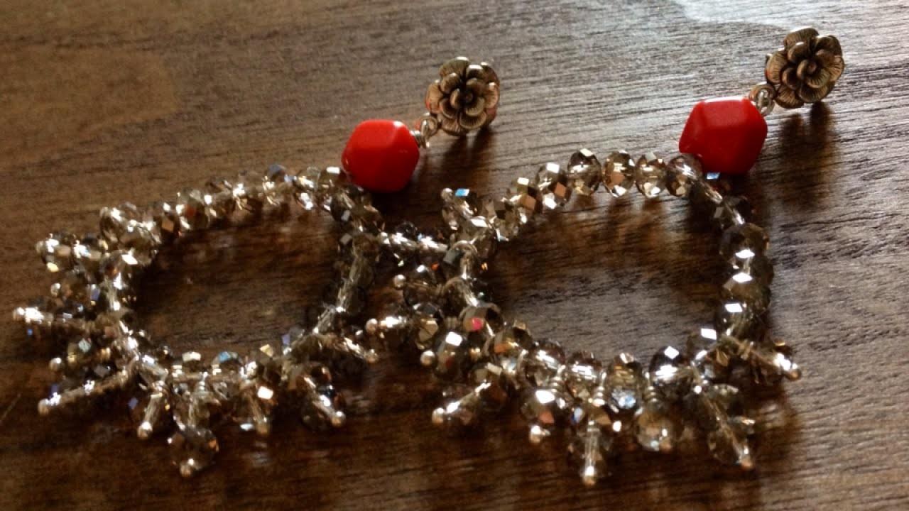 Make Pretty Crystal Earrings - DIY Style - Guidecentral