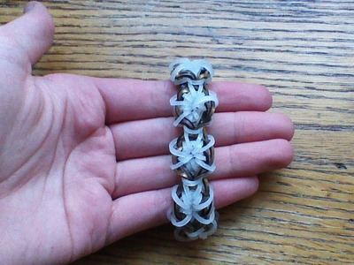 NEW Rainbow Loom Milestone Bracelet