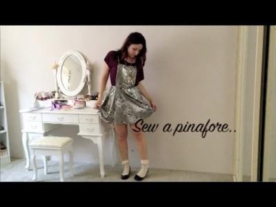 Pinafore Sewing Tutorial