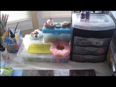 Polymer Clay Supplies + Storage!