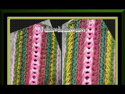 Rainbow Loom Band Tutankhamun Bracelet Tutorial.How To
