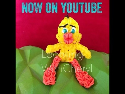 Rainbow Loom Tweety Bird - Looming WithCheryl