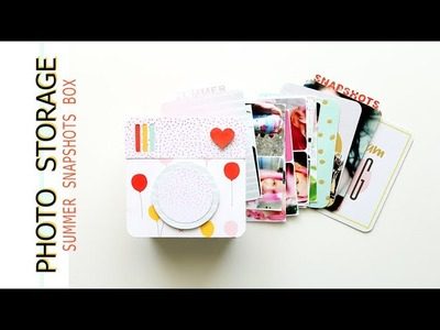 Scrapbook Process | Summer Snapshots Box | Dear Lizzy Fine & Dandy